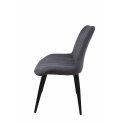 Кресло 'Юта' на конусных опорах порошковая краска / ткань